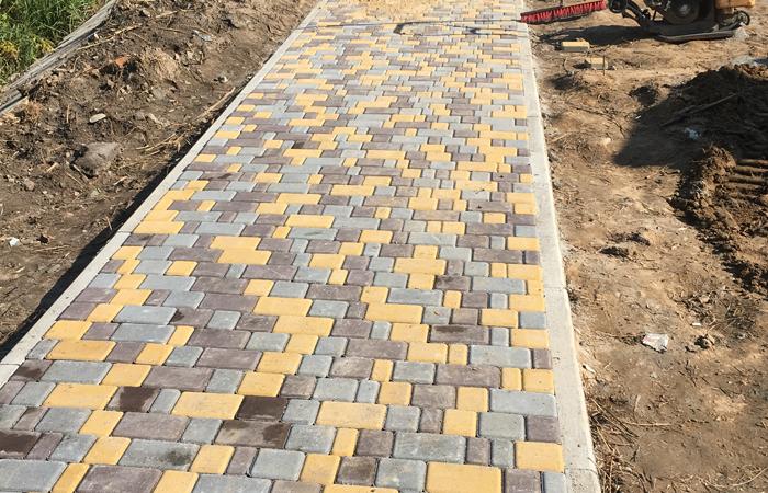 Укладка тротуарной плитки 0
