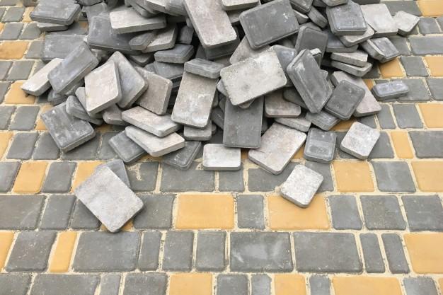 Укладка тротуарной плитки 3